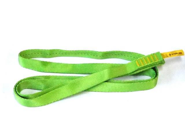 スターリン テープスリング ナイロン 75cm(ネオグリーン)