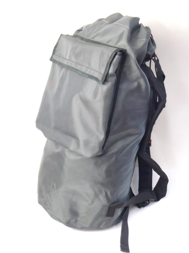 レスキュージャパンロープバッグ 中サイズ80m用 グレー