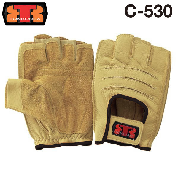 【ゆうメール不可】トンボレックス レスキュー 牛セラミックレザー 消防手袋 オーバーグローブ C-530BK(クーポン対象外)