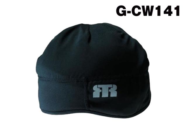 【メール便送料無料/3点まで】トンボレックス マイクロフリースインナーキャップ(冬用) G-CW141 ブラック(クーポン対象外)