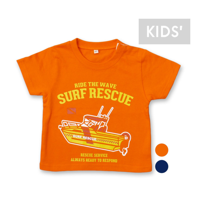 SURF RESCUE Tシャツ[キッズ][アウトレット]