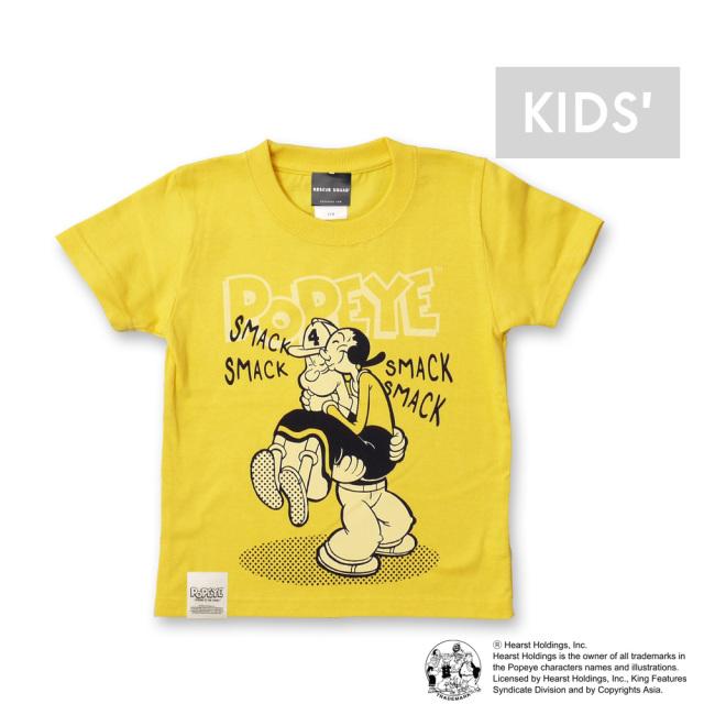 RSポパイ(TM)&オリーブTシャツ[キッズ]