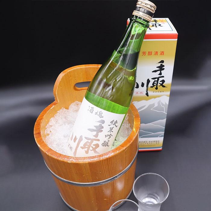 手取川純米吟醸(辛口)