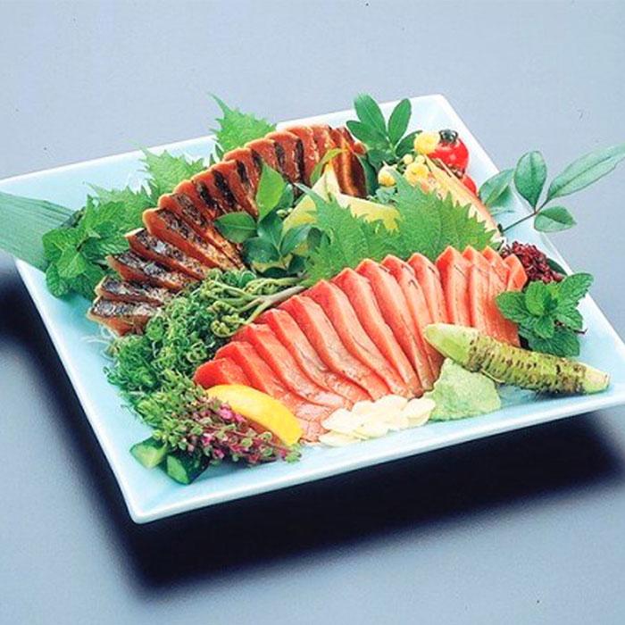 藁焼き鰹タタキ・刺身セット