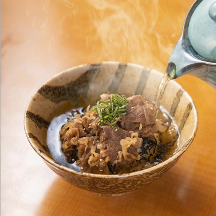 むなかた牛茶漬け (1箱2人前×3箱)