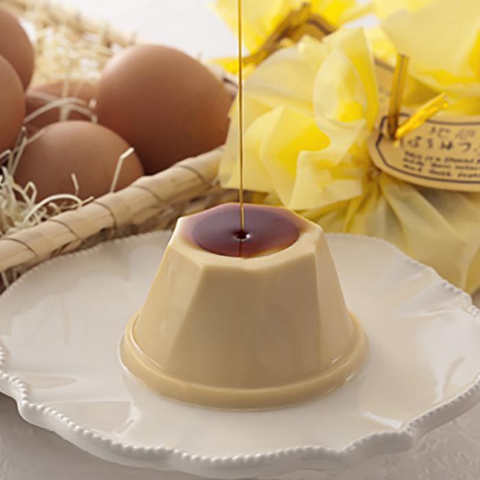 地卵はちみつプリン