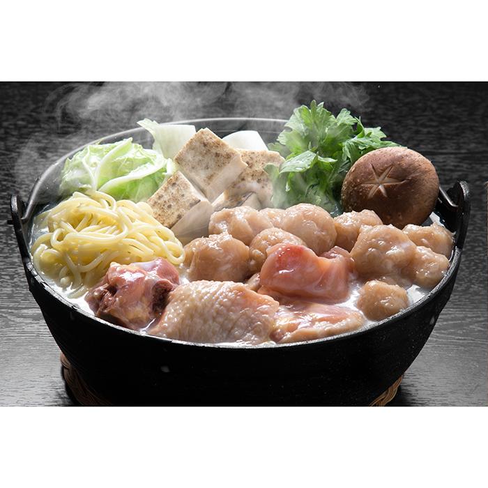 冠地鶏白湯鍋セット
