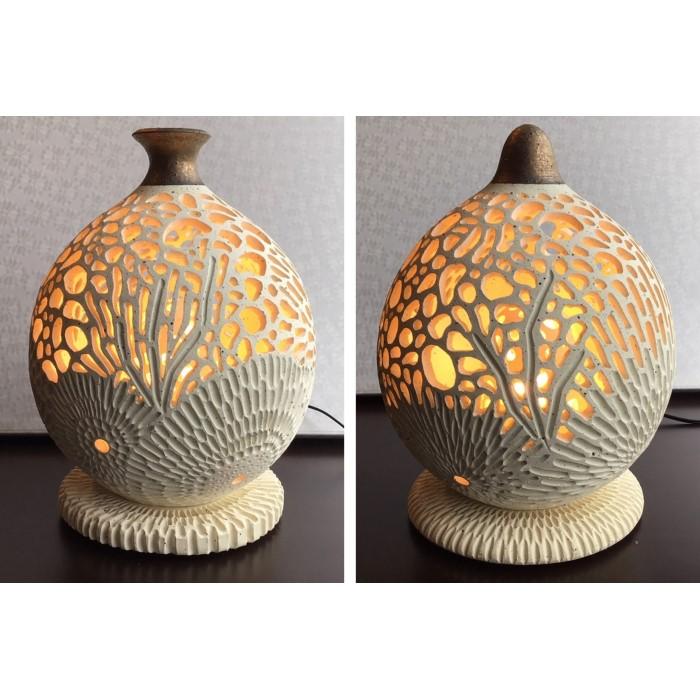 珊瑚の灯り(インナーシェード付き)