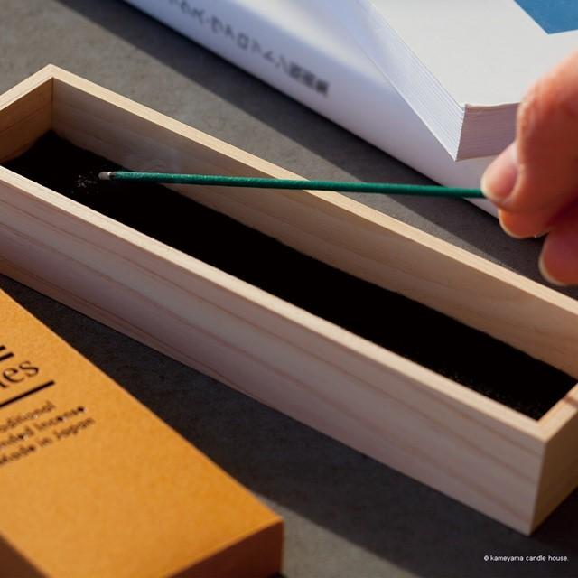 木製横型香炉 Incense Burner Box