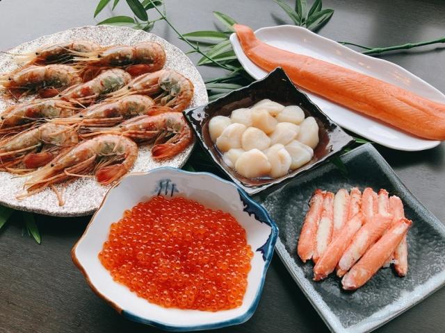 海鮮丼ネタ一覧