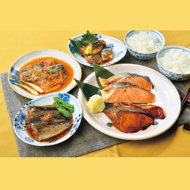 三陸おのや魚惣菜詰合せ
