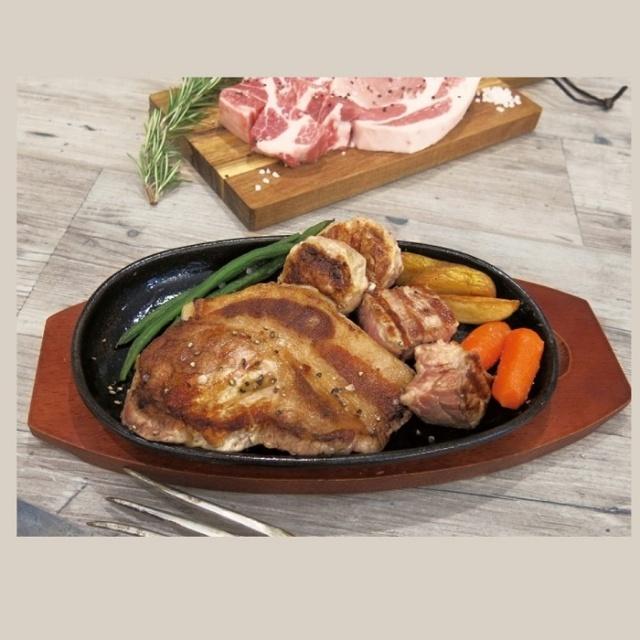 佐助豚 ステーキ4種食べ比べセット