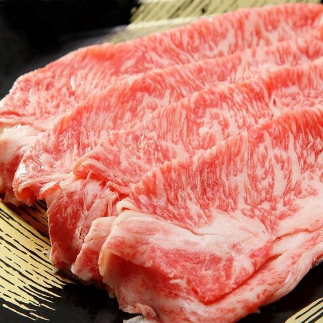 栃木県那須高原産黒毛和牛リブロースすき焼き用