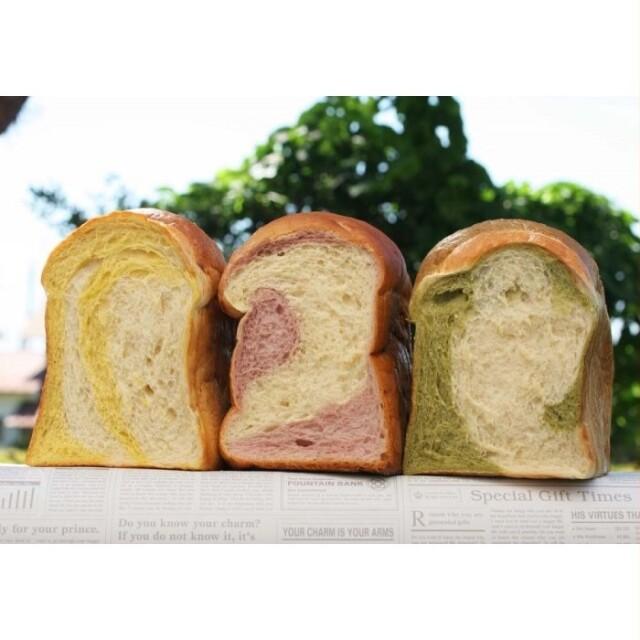野菜の彩り食パン3色セット