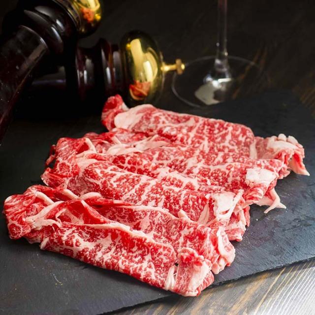 甲州牛すき焼き肩ロース