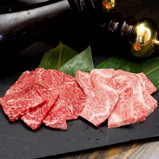 甲州牛焼肉食べ比べ