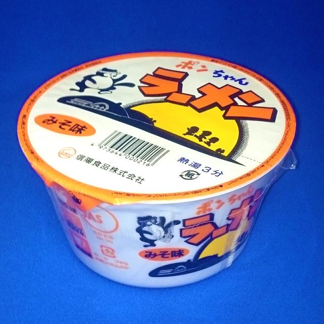 ポンちゃんラーメン カップみそ6食