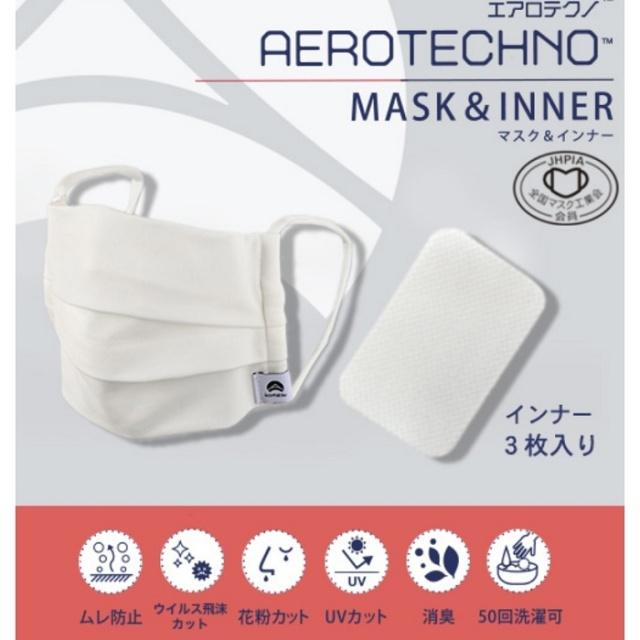 エアロテクノカラードマスク&インナー