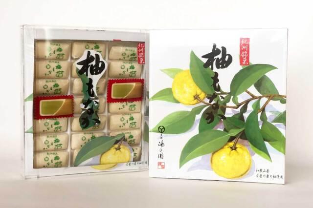 紀州銘菓 柚もなか 21個入り