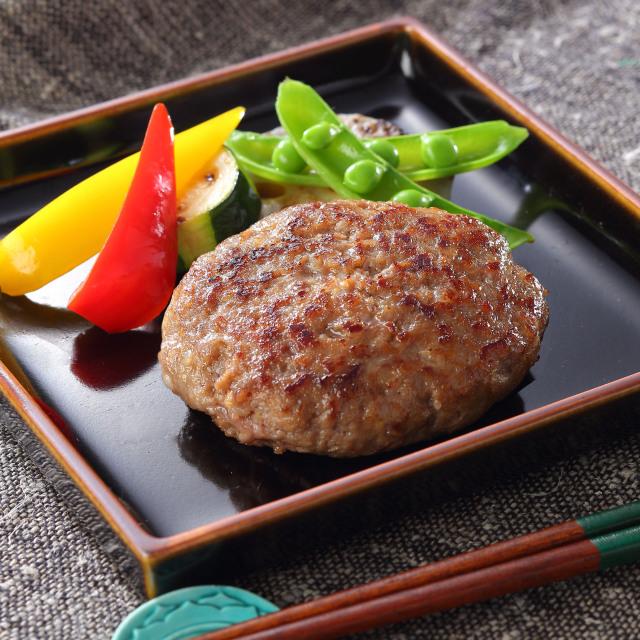 鳥取和牛×大山豚手作りハンバーグ※イメージ
