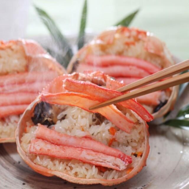 北海道蟹おこわ (4006)