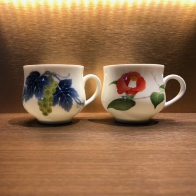 香蘭社 マグカップ(箱付)