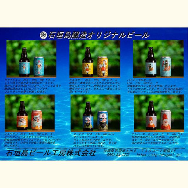 石垣醸造瓶ビール6種セット