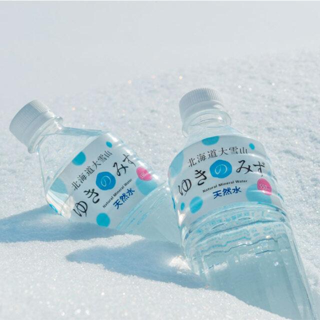 北海道大雪山 ゆきのみず 550ml×24本