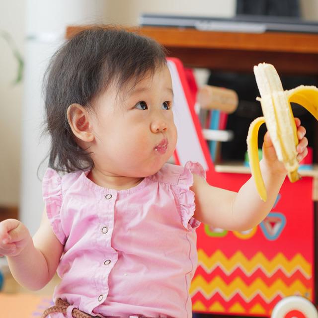 子供も大好きバナナ