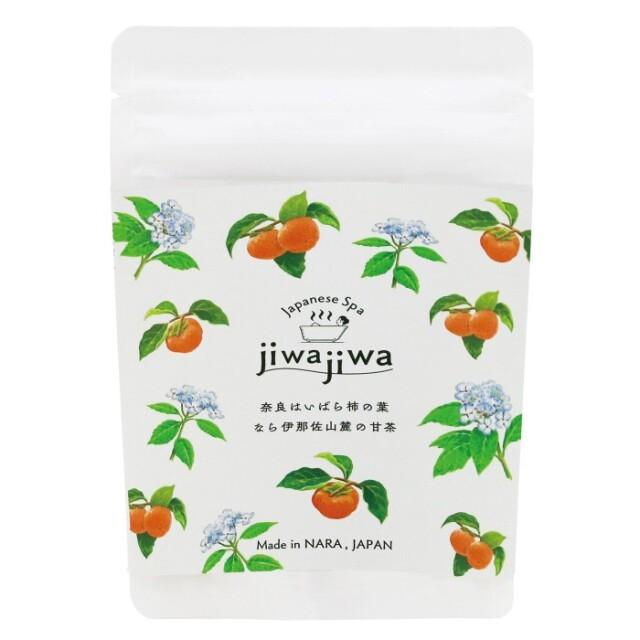 jiwajiwa お風呂のハーブ柿の葉1個入