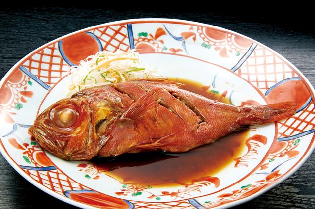 〈ゆう屋〉金目鯛の姿煮★