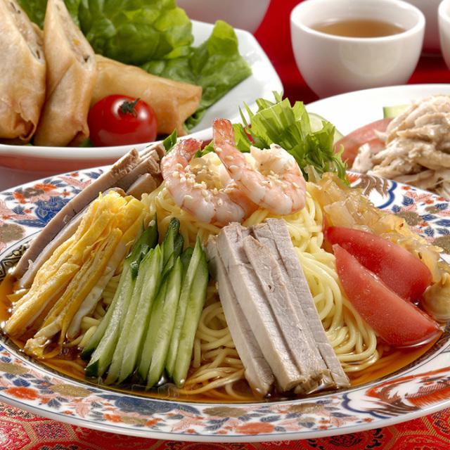 きちみ冷やし中華調理例