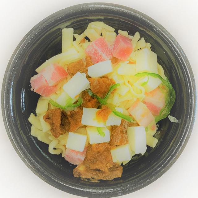 蔵王のお釜カップピザ甘口カレー中