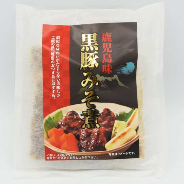 黒豚味噌煮