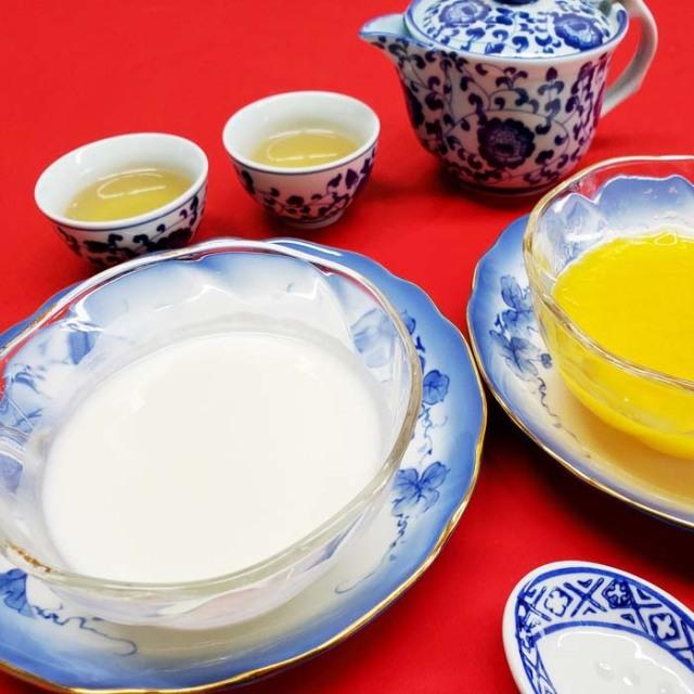 清水料理長がおすすめする中華スィーツセット