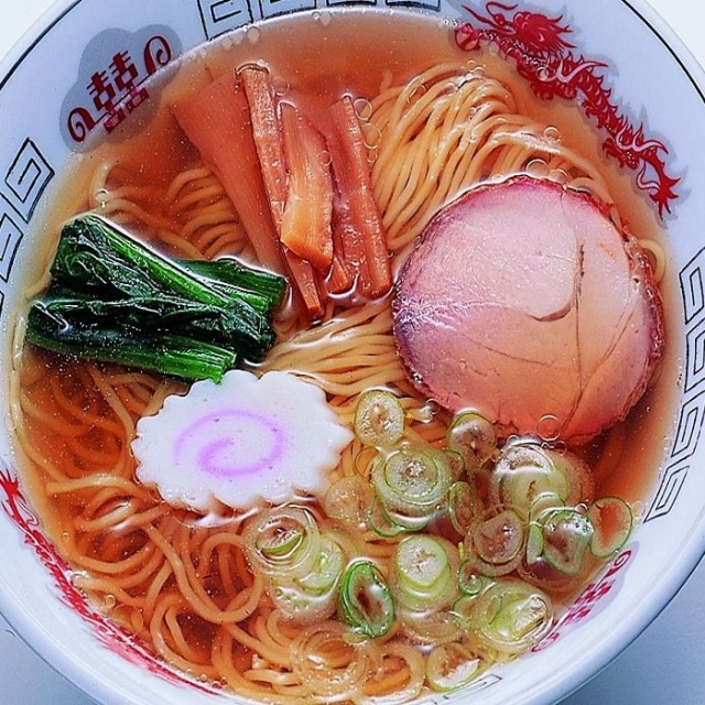 たれ付き温麺中華調理
