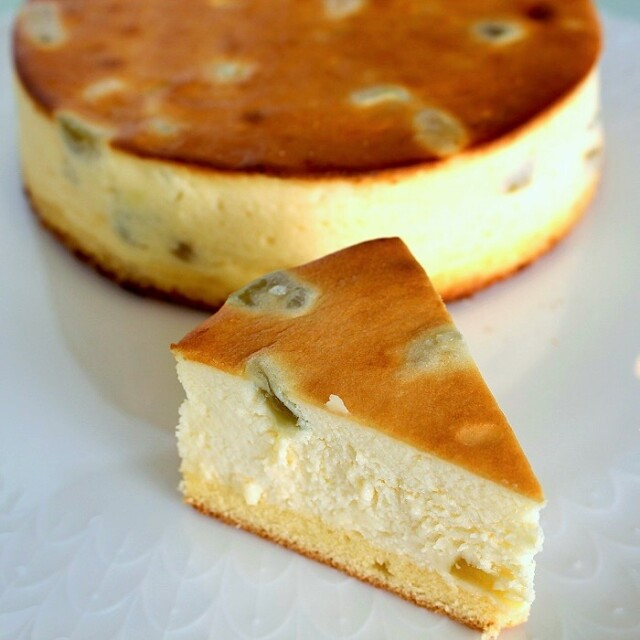 梅チーズケーキ
