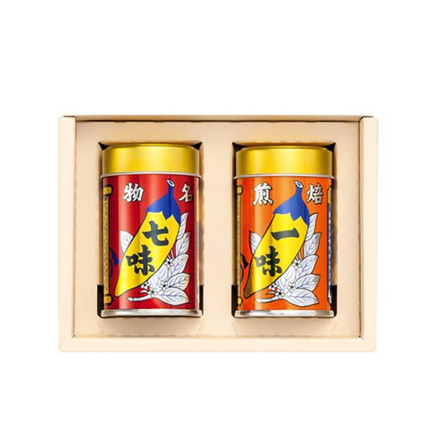 八幡屋礒五郎 唐からしセット2缶YC-2