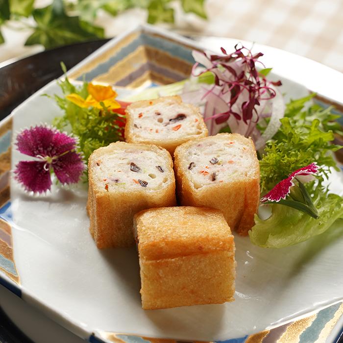 のりちゃん揚げタコイカ入(2袋)&味噌ホルモンセット(2袋)セット (山下料理長監修)