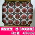桜白桃(9月上中旬頃〜)【5kg箱】【お買得品)】