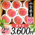 桜白桃(9月上中旬頃~)【2kg箱】【通常品)】