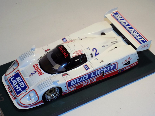 AB MODEL ジャガーXJR-12 #2 TWR/Budlight 1992 デイトナ24H 2位 Overall / 1st in GTP