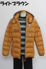 204-2001 ダウンジャケット (ナイロン100%、ダウン90%、フェザー10%) サイズ:M・L・XL