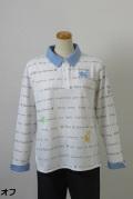 182-1001 長袖ポロシャツ(綿55%、ポリ45%) サイズ:M・L・XL
