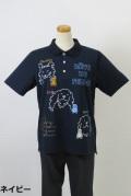 182-1002 半袖ポロシャツ (綿55%、ポリ45%) サイズ:M・L・XL
