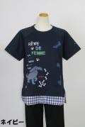 192-1010 綿100% ラグラン半袖Tシャツ サイズ:M・L・XL