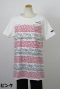 192-1017 Aライン半袖Tシャツ (綿95%、ポリ5%) サイズ:M・L・XL