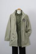 193-2001  ナイロンコート ベージュ (ポリエステル100%) サイズ:M・L・XL