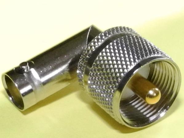 2個パックMP-BNCJ L型変換コネクター