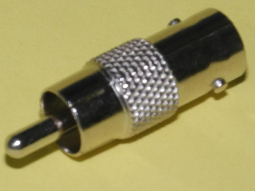 100個RCAP-BNCJ変換コネクター